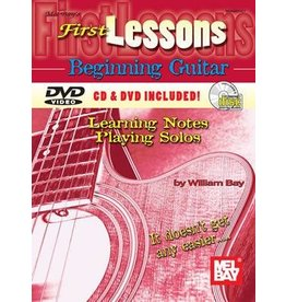 Mel Bay - First Lessons, Beginning Guitar (incl/DVD)