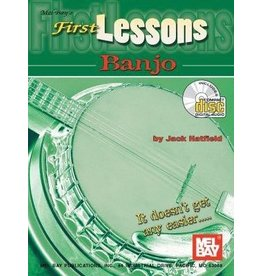 Mel Bay - First Lessons, Banjo (incl/DVD)