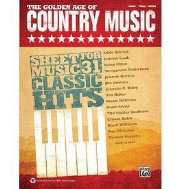 Hal Leonard - The Golden Age Of Country Music, (P/V/G)