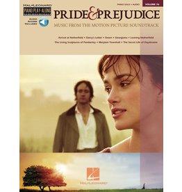 Hal Leonard - Pride And Prejudice, Piano Play-Along, Vol 76