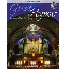 Hal Leonard - Great Hymns w/CD for Alto Sax