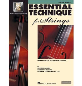 Hal Leonard - Essential Technique 2000 for Strings, Level 3 Violin w/CD