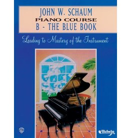 Alfred's Publishing - Piano Course, B-The Blue Book