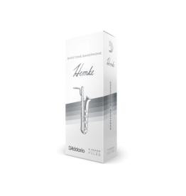 Rico - 5 Pack of Baritone Saxophone Reeds, 3.5