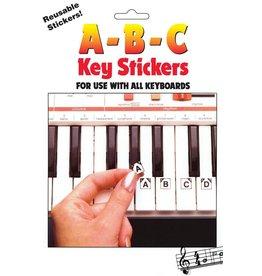 Hal Leonard - ABC Keyboard Stickers