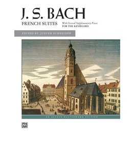 Alfred's Publishing - Bach, French Suites (Intermediate/Advanced)