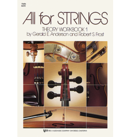 Neil A. Kjos - All For Strings Theory Workbook 1