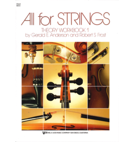 Neil A. Kjos - All For Strings Theory Workbook 1, Cello