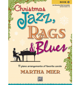 Alfred's Publishing - Christmas Jazz, Rags & Blues, Book 1