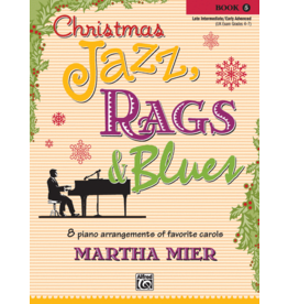 Alfred's Publishing - Christmas Jazz, Rags & Blues, Book 5