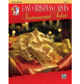 Alfred's Publishing - Easy Christmas Carols Instrumental Solos (Alto Sax), Book and CD