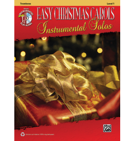 Alfred's Publishing - Easy Christmas Carols Instrumental Solos (Trombone), Book and CD