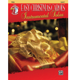Alfred's Publishing - Easy Christmas Carols Instrumental Solos (Flute), Book and CD
