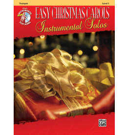 Alfred's Publishing - Easy Christmas Carols Instrumental Solos (Trumpet), Book and CD