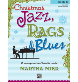 Alfred's Publishing - Christmas Jazz, Rags & Blues, Book 2