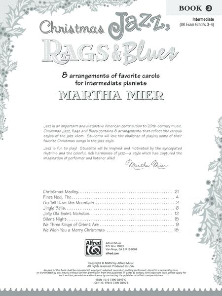 Neil A. Kjos - Christmas Jazz, Rags & Blues, Book 2 - Janzen Brothers Music Company