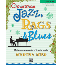 Alfred's Publishing - Christmas Jazz, Rags & Blues, Book 3