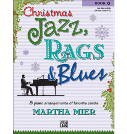 Alfred's Publishing - Christmas Jazz, Rags & Blues, Book 4