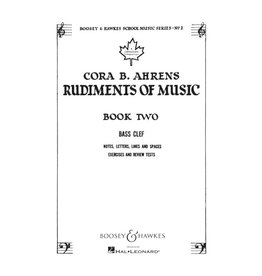 Hal Leonard - Cora B. Ahrens Rudiments of Music, Book 2 Bass Clef