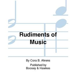 Hal Leonard - Cora B. Ahrens Rudiments of Music, Book 4