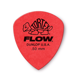 Jim Dunlop - .50 Red Tortex Flow Pick Players Pack (12)