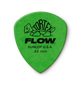 Jim Dunlop - .88 Green Tortex Flow Pick Players Pack (12)