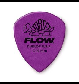 Jim Dunlop - 1.14 Purple Tortex Flow Pick Players Pack (12)