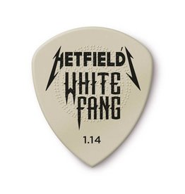 Jim Dunlop - Hetfield's White Fang Custom Flow Pick, 3 Pack (1.14)