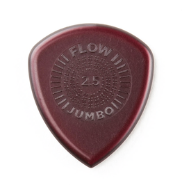 Jim Dunlop - 2.5 Flow Jumbo Pick Pack, Pack of 3