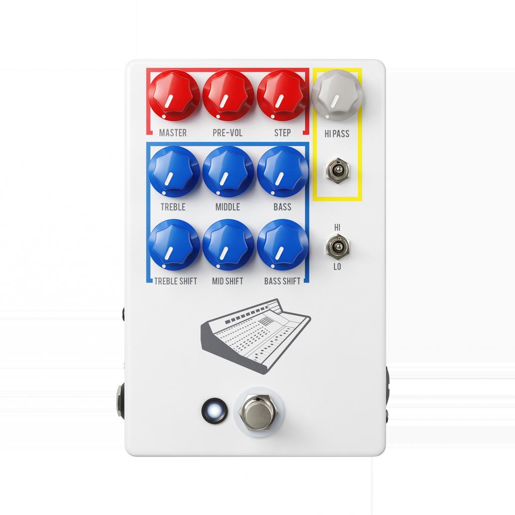JHS Pedals - Colour Box V2 Preamp Pedal