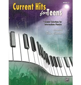 Alfred's Publishing - Current Hits for Teens, Intermediate, Book 2