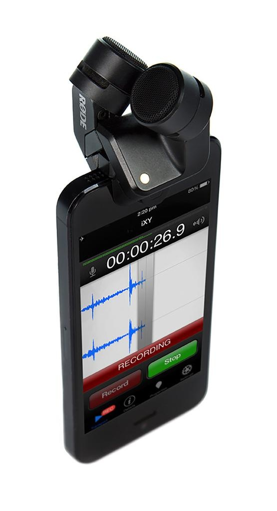Rode - Digital Stereo Microphone (up to 24/96K recording) for Lightning-Compatible Apple Devices