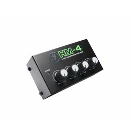 Mackie - 4-Way Headphone Amplifier, 1in/4 out