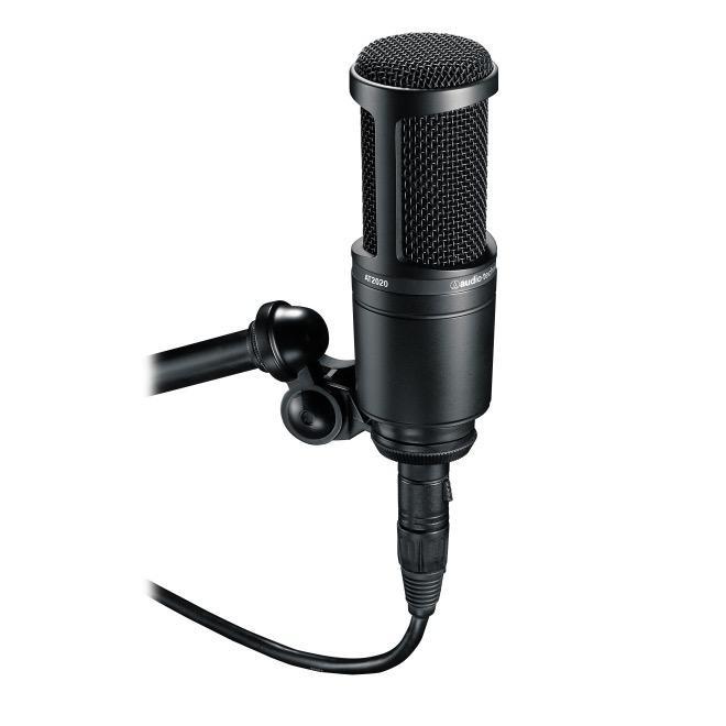 Audio Technica - AT2020 Studio Condenser Microphone