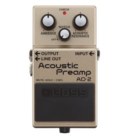 Boss - AD-2 Acoustic Preamp Pedal