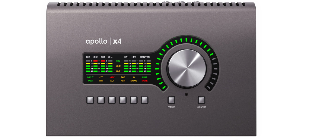 Universal Audio - Apollo x4 12x18 Thunderbolt 3 Audio Interface with UAD DSP
