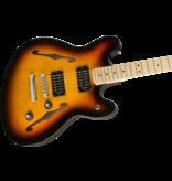 Squier - Affinity Series Starcaster, 3-Color Sunburst