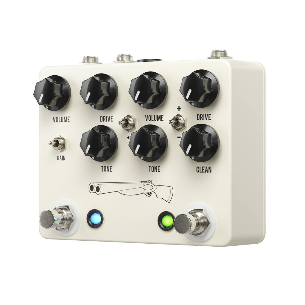 JHS Pedals - Double Barrel V4 2-in-1 Dual Overdrive Pedal