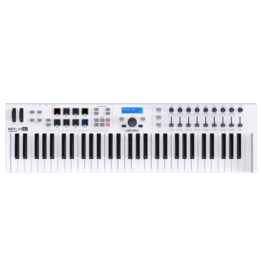 Arturia - KeyLab Essential 61 Semi-Weighted USB MIDI Keyboard Controller w/Software Bundle