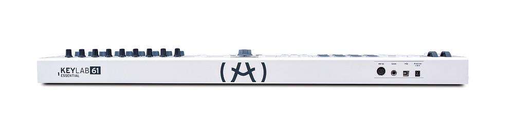 Arturia - KeyLab Essential 61 Semi-Weighted USB MIDI Keyboard Controller w/Software Bundle