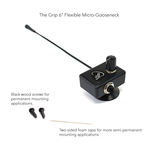 "Myers - The Grip 6"" Micro Flexible Micro-Gooseneck Violin Pickup"