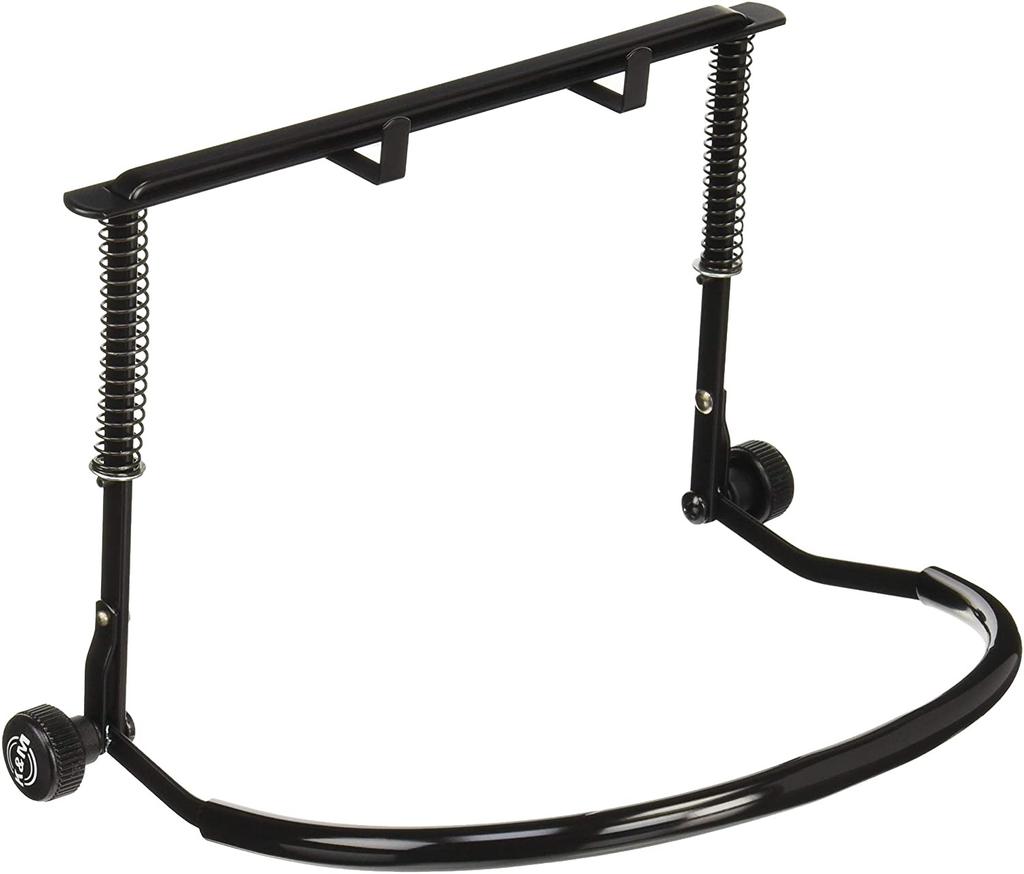 K&M - 16416-BLACK Harmonica Holder, Black