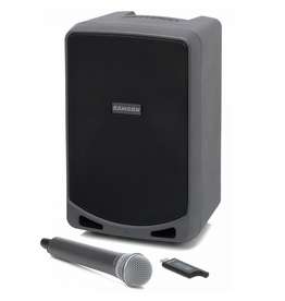 Samson - XP106W Rechargeable Portable PA w/Wireless Mic and Bluetooth