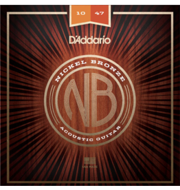D'Addario - Nickel Bronze Acoustic Strings, 10-47 Extra Light