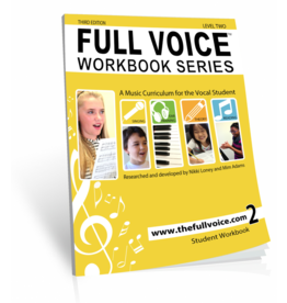 Hal Leonard - Full Voice Workbook Level 2