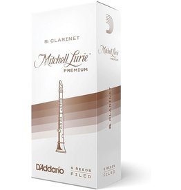 Rico - 5 Pack of Bb Clarinet Reeds, 2