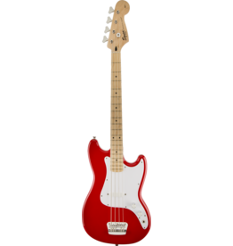 Squier - Bronco Bass, Red