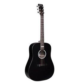 Martin - DX Johnny Cash Dresnought Acoustic-Electric, Jett Black