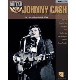 Hal Leonard - Johnny Cash, Guitar Play-Along Volume 115