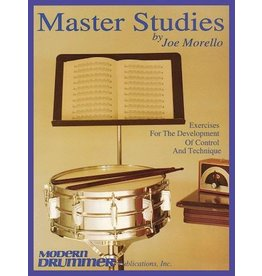 Hal Leonard - Master Studies (Modern Drummer), Joe Morello, Book